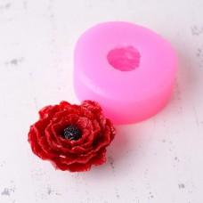 Silicone mold Poppy