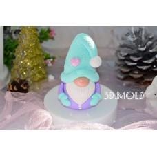 Silicone mold Gnome