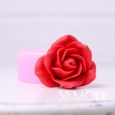 Silicone mold Rose 2