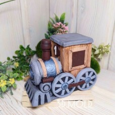 Silicone mold Locomotive
