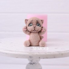 Silicone mold Kitty 2