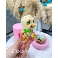 Silicone mold Chick