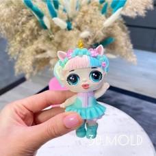 Silicone mold Lol unicorn