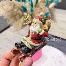 Silicone mold Santa Claus