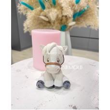 Silicone mold Horse