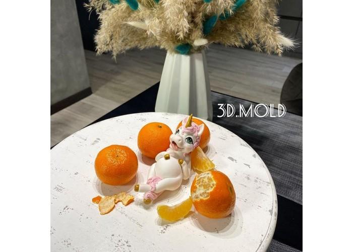 Silicone mold Unicorn sweet tooth