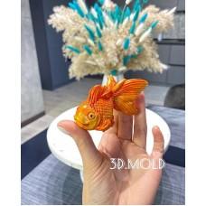 Silicone mold Fish