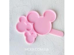 Silicone mold Mickey's lollipops