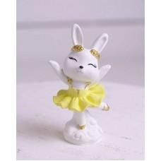 Silicone mold Bunny ballerina