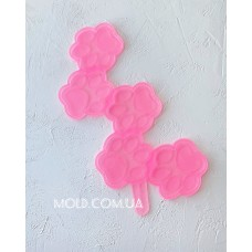 Silicone mold Lollipops Paws