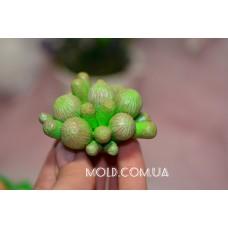 Silicone mold Anemone