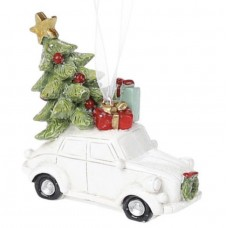 Silicone mold Car with Christmas tree
