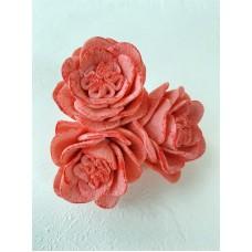 Silicone mold Triple rose