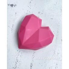 Silicone mold Geometric heart