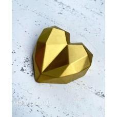 Silicone mold Small geometric heart