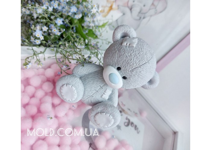Silicone mold Teddy bear