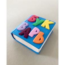 Silicone mold ABC book