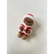 Silicone mold Santa bear
