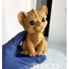 Silicone mold Lion cub