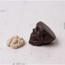 Silicone mold Skull for Candy