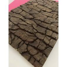 Silicone mold Bark
