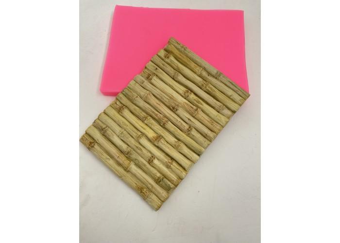 Silicone mold mat Bamboo