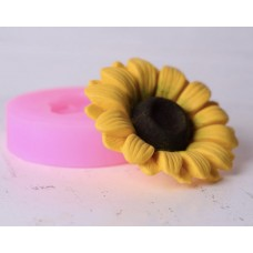 Silicone mold Sunflower