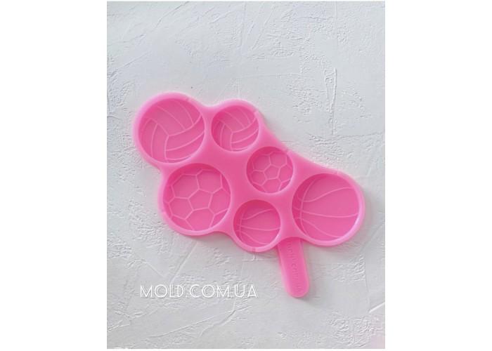Silicone Mold Lollipops balls
