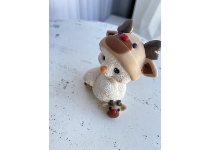 Silicone mold Snowman 2