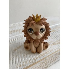Silicone mold Lion with crown