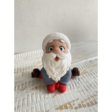 Silicone mold Santa