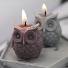 Silicone mold Owl 3