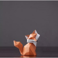Silicone mold Fox geometric