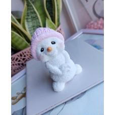 Silicone mold Snowman 3